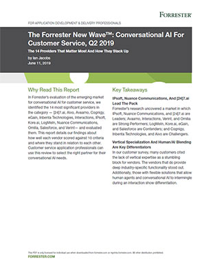Forrester 2017 Customer Care Trends report