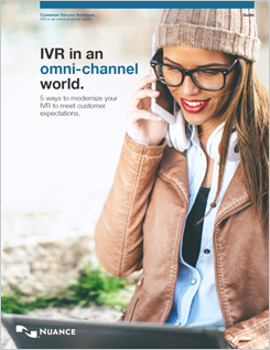 """IVR in an Omni-channel World guide """