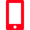 Mobile icon red